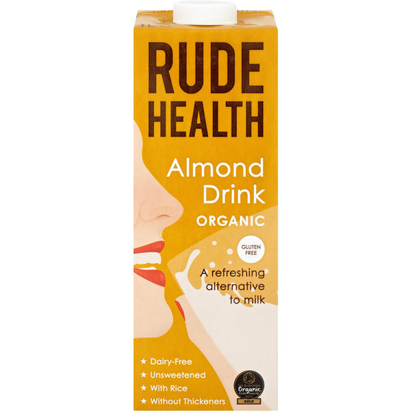 Rude Health Organic Dairy-free Drink - Almond, 1 L.