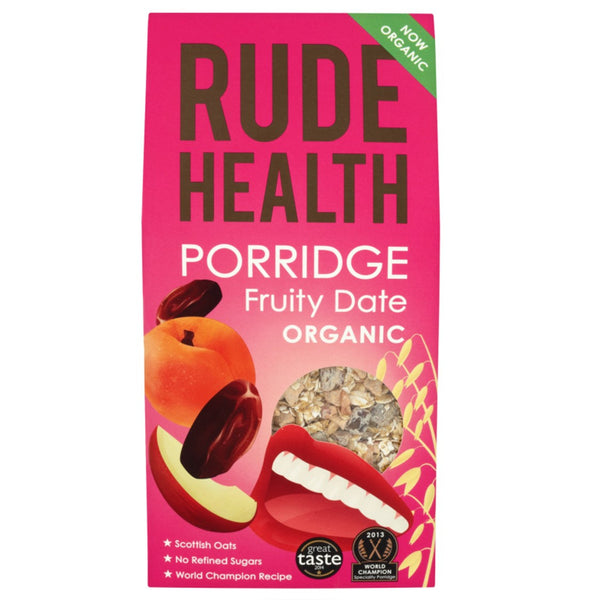Rude Health Organic Porridge - Fruity Date, 500 g.