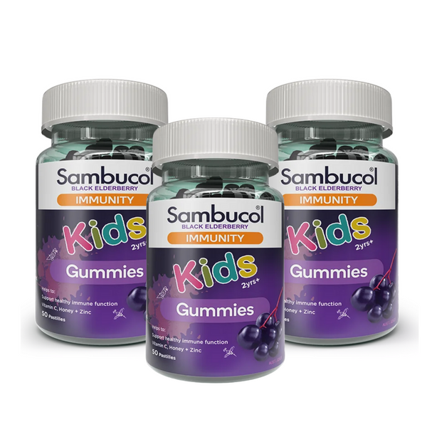 25% OFF [Bundle of 3] Sambucol Kids Immunity Gummies (AUS Version), 50 gums. *Authorised Exclusive Distributor
