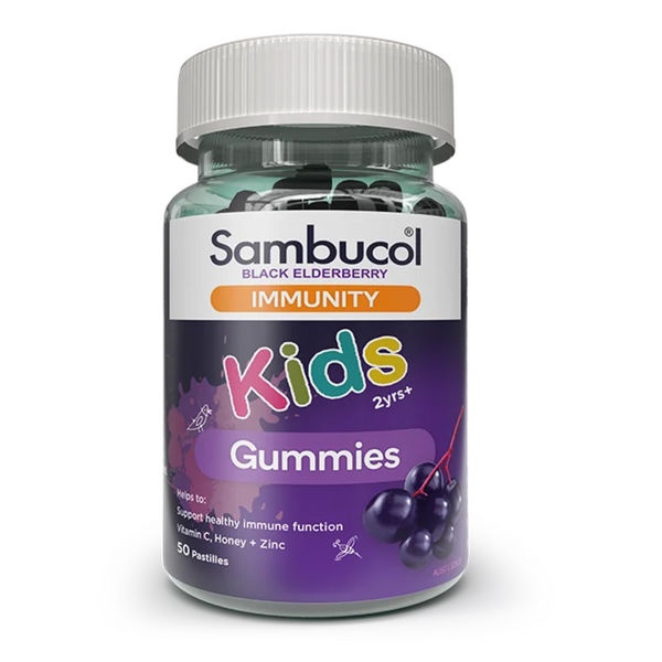 Sambucol Kids Immunity Gummies (AUS Version), 50 gums. *Authorised Exclusive Distributor