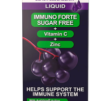 Sambucol Immuno Forte Sugar Free (UK Version), 120ml. *Authorised Exclusive Distributor