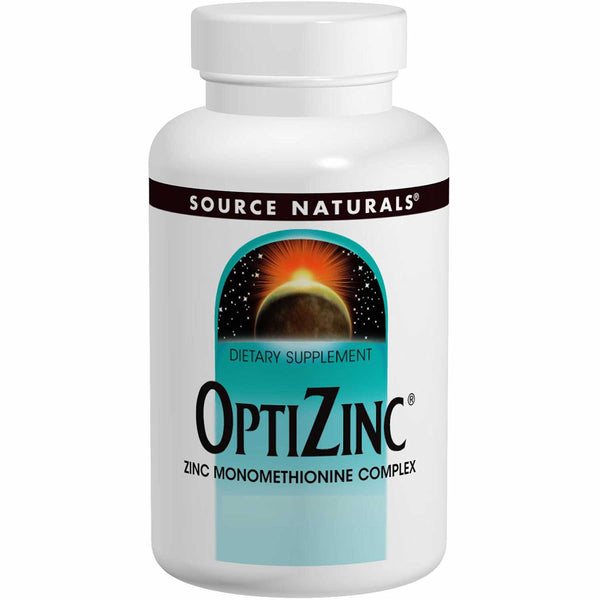 Source Naturals OptiZinc, Zinc Monomethionine (30 mg), 60 tabs.