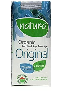 Natur-a Enriched Soy Beverage - Original (Organic), 200 ml. [Expiry: Sept 2020] - Single Pack