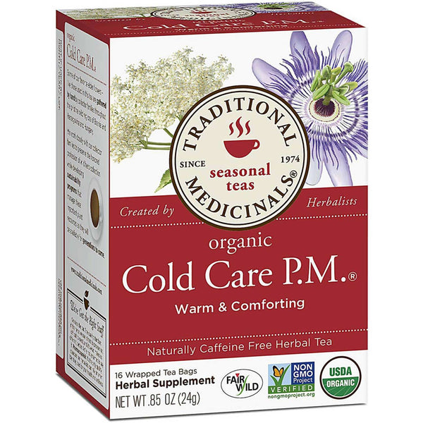 Traditional Medicinals Organic Cold Care P.M.®, 16 bags