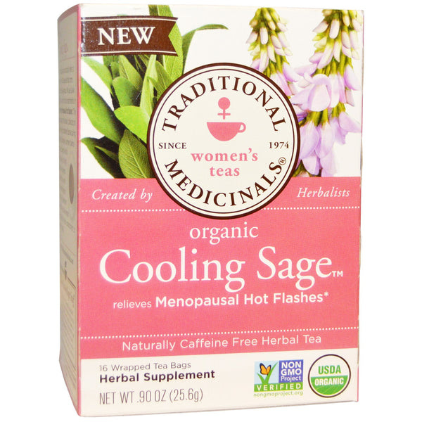 Traditional Medicinals Organic Cooling Sage, 16 bags