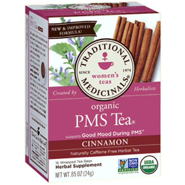Traditional Medicinals PMS Tea w/Cinnamon, 16 bags