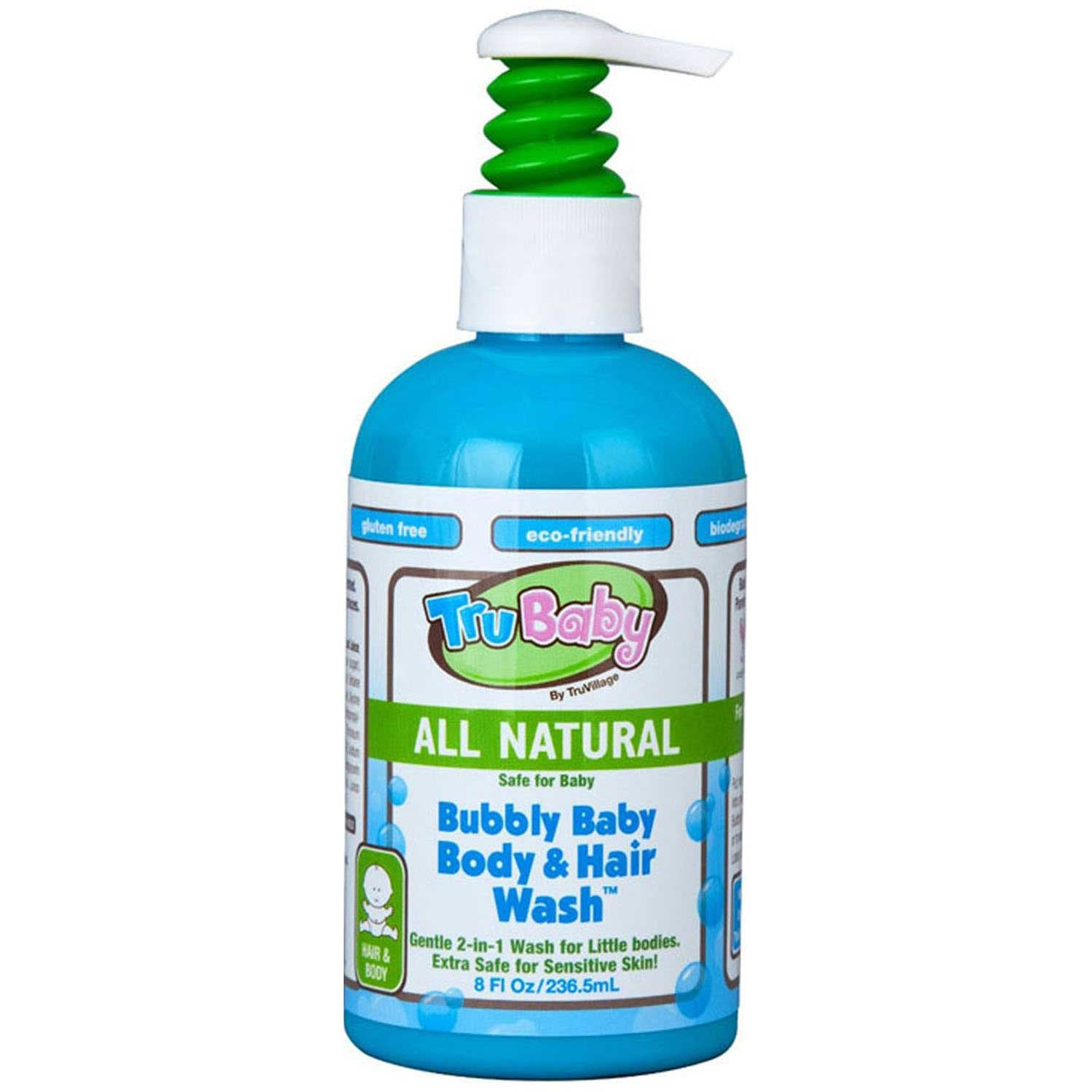 TruBaby Bubbly Baby Body & Hair Wash, 236.5 ml-NaturesWisdom