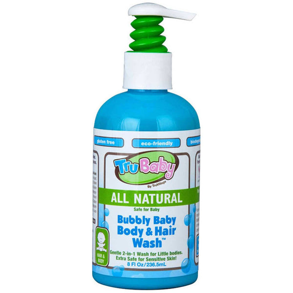 TruBaby Bubbly Baby Body & Hair Wash, 236.5 ml