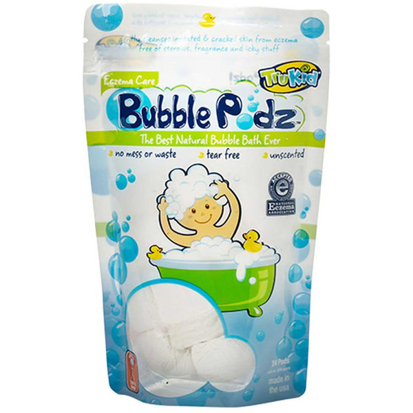 TruKid Easy Eczema Bubble Podz, 24 pcs