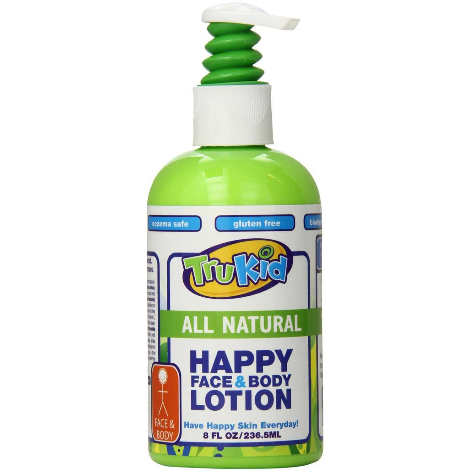 TruKid Happy Face & Body Lotion, 236.5 ml-NaturesWisdom