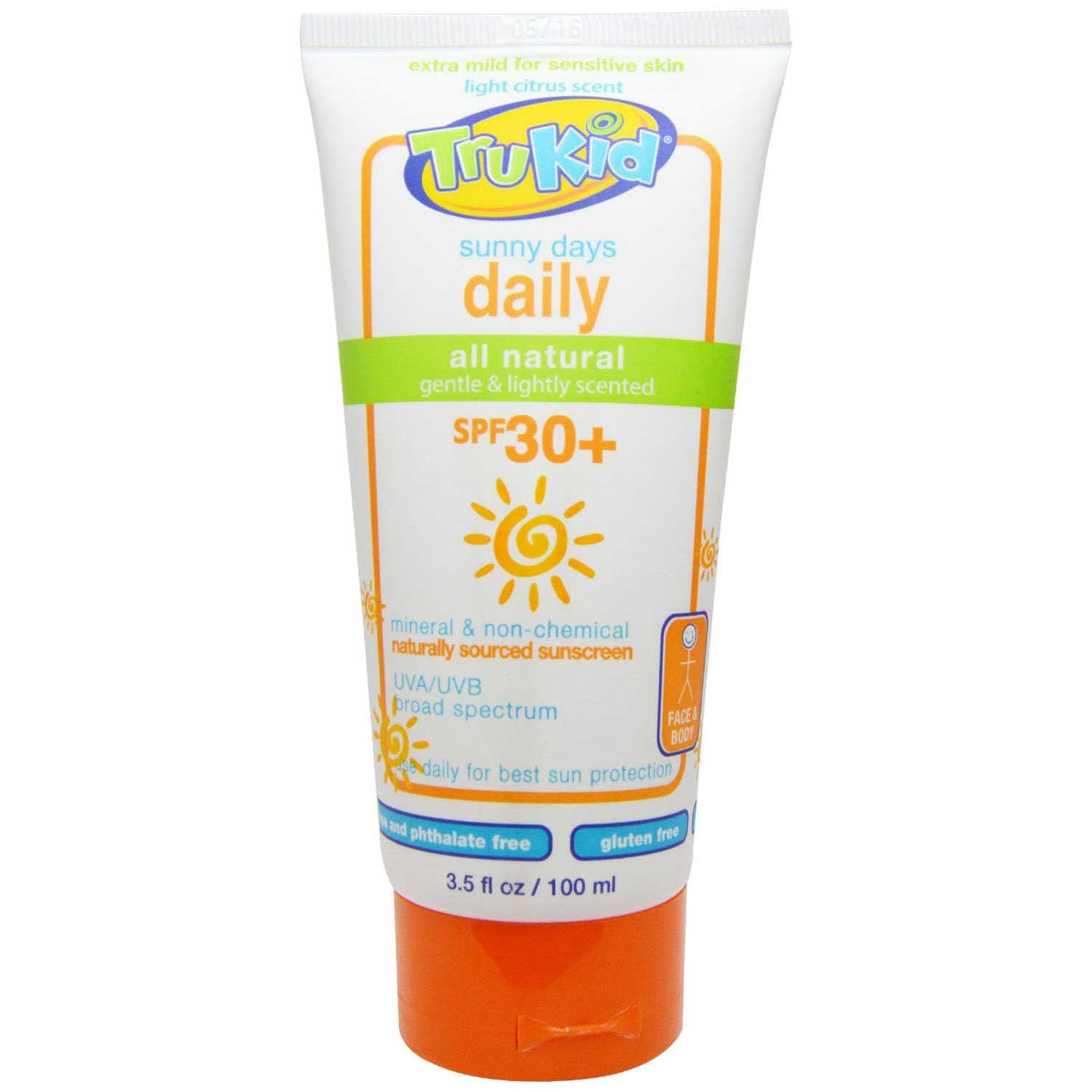 TruKid Sunny Days SPF 30+ Lotion, 100 ml-NaturesWisdom