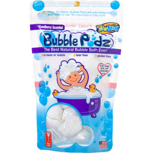 TruKid Yumberry Scented Bubble Podz, 24 podz.