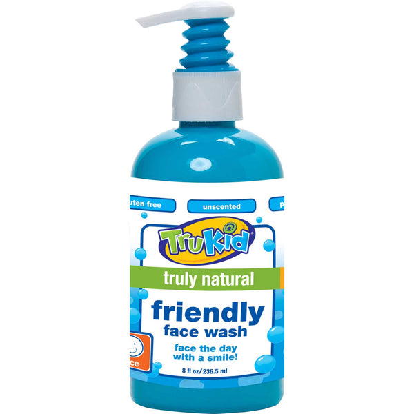 TruKid Friendly Face Wash, 8.00 oz.