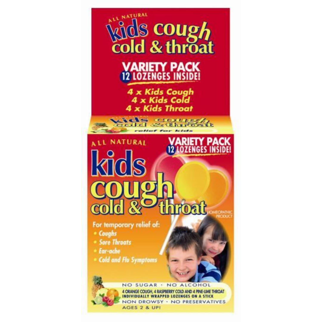 All Natural Kids Cough - Multi Pack, 12 lozs.