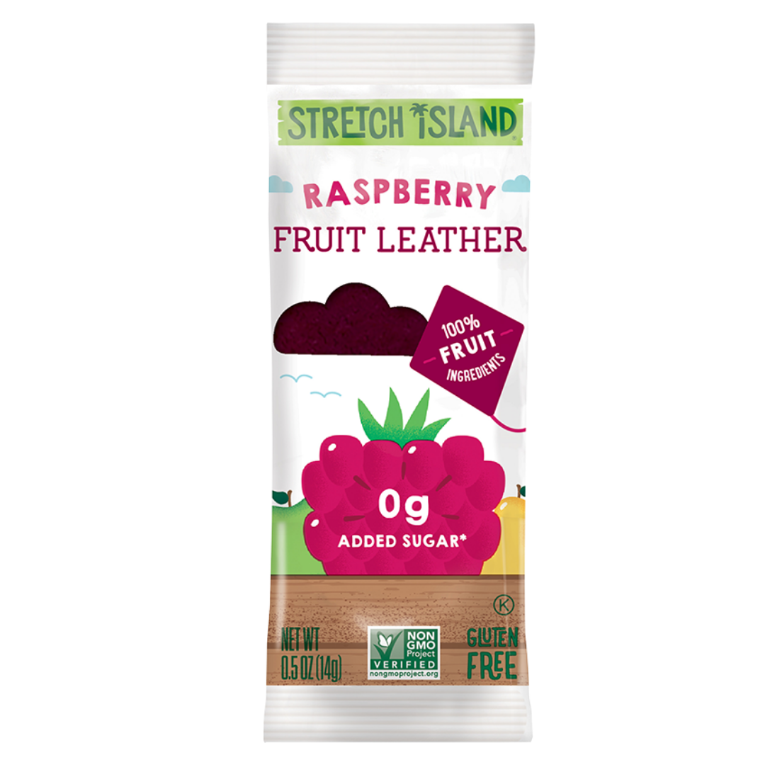 Stretch Island Fruit Leather Ripened Raspberry, 14 g.