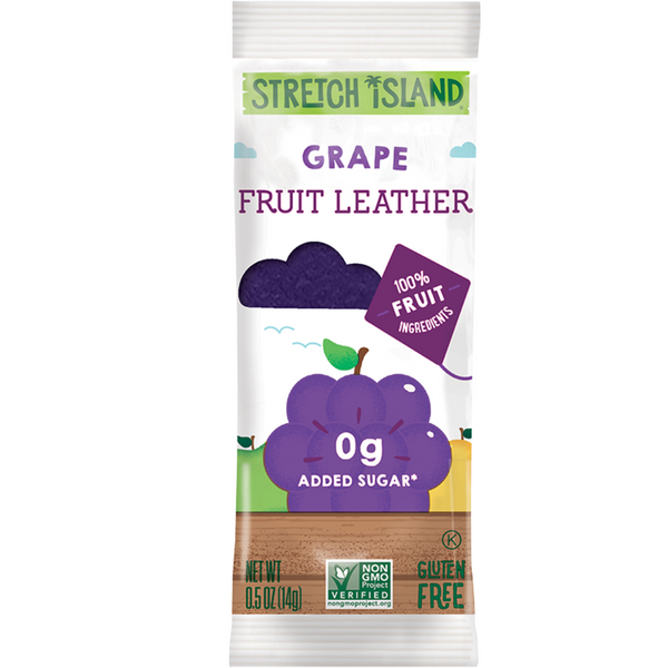 Stretch Island Fruit Leather Harvest Grape, 14 g.