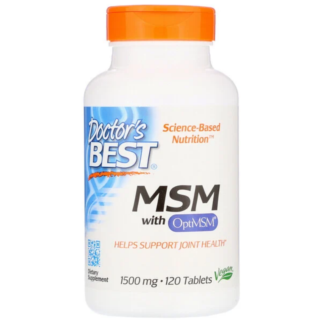 Doctor's Best Best MSM 1500 (1500 mg), 120 Tablets