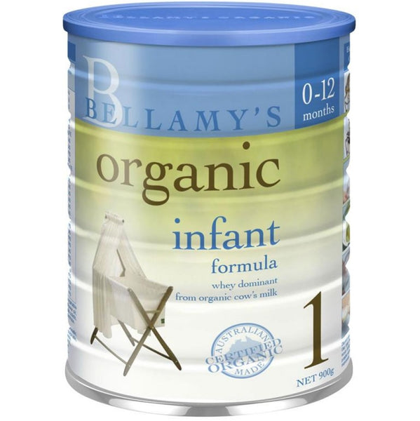 Bellamy's Organic Infant Formula - Step 1, 900 g.