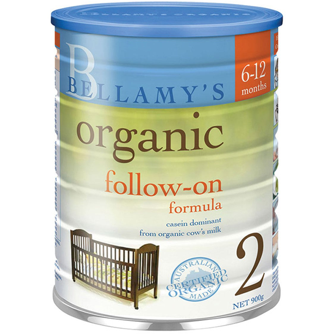 Bellamy's Organic Follow-On Formula - Step 2, 900 g.-NaturesWisdom