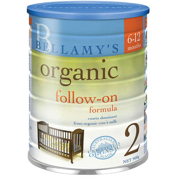 Bellamy's Organic Follow-On Formula - Step 2, 900 g.