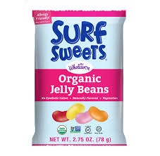 Surf Sweets Organic Jelly Beans, 78 g.