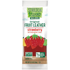 Stretch Island Fruit Leather Summer Strawberry, 14 g.