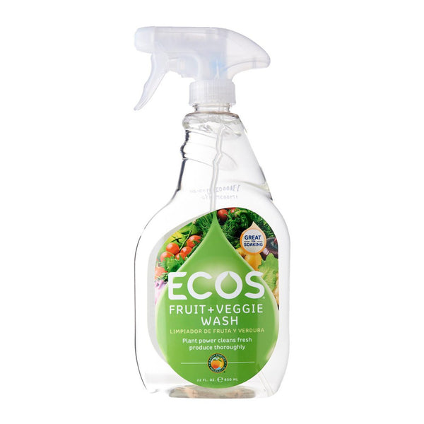 Earth Friendly Fruit & Vegetable Wash, 650 ml.
