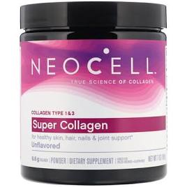 Neocell Super Collagen, Type 1 & 3, 198 g.
