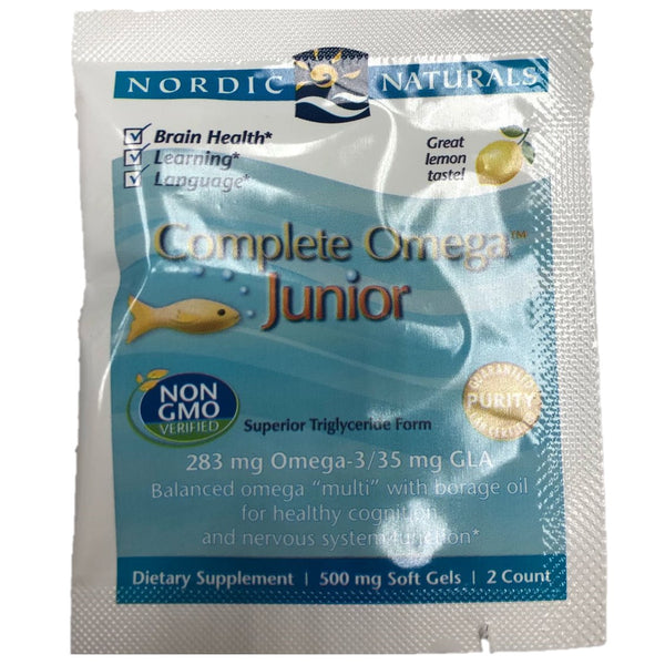 FREE SAMPLE Nordic Naturals Complete Omega Junior