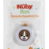 [Buy 1 Free 1] Nuby Insect Repellent Clip - Duck or Dog (Exp: 15/04/21)