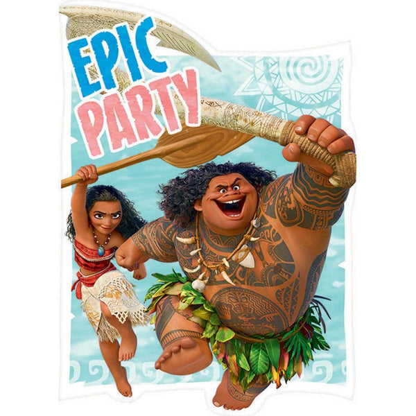 Moana Invitations