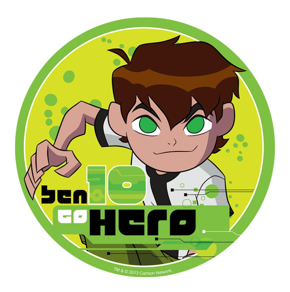 Ben 10 Edible Cake Topper