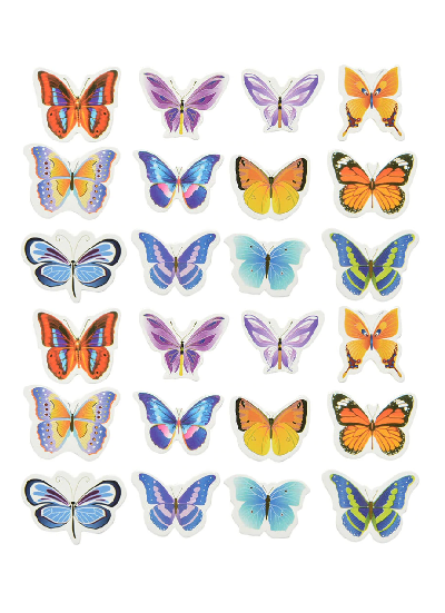 Butterfly Edible Cupcake Toppers