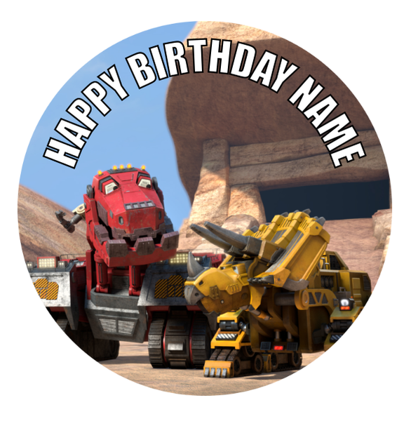 Dinotrux Edible Cake Topper