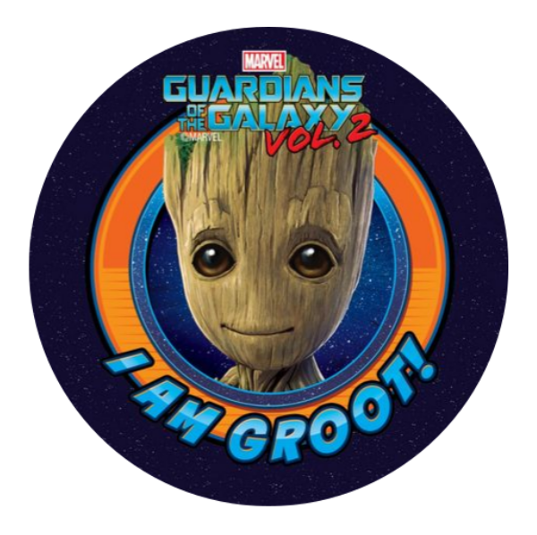 Groot Edible Cake Topper