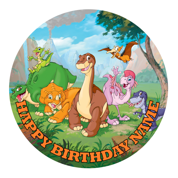 The Land Before Time Edible Cake Topper