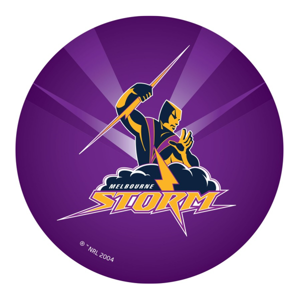 Melbourne Storm Edible Cake Topper