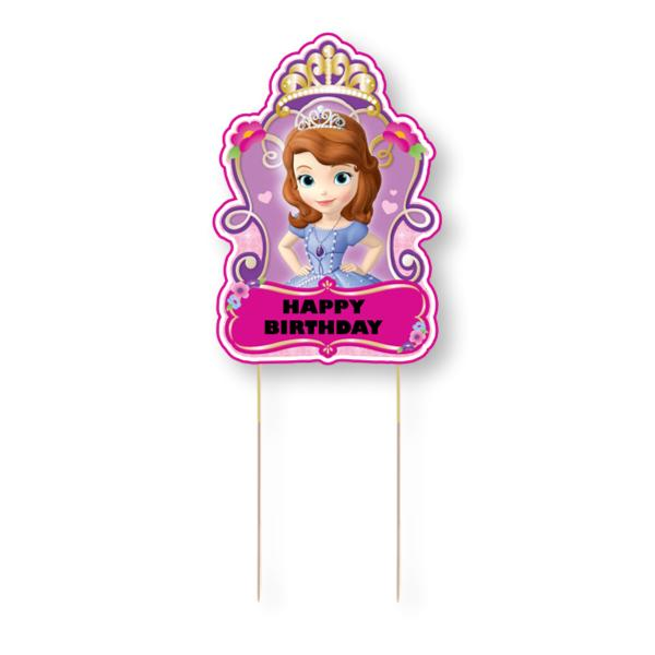 Sofia the First Cake Topper