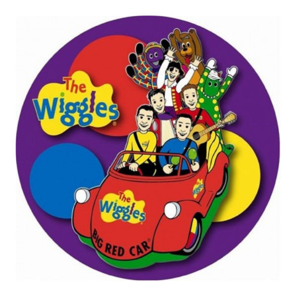 The Wiggles Edible Cake Topper