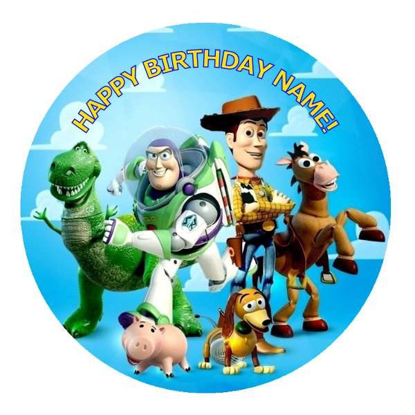 Toy Story Edible Cake Topper Viparty