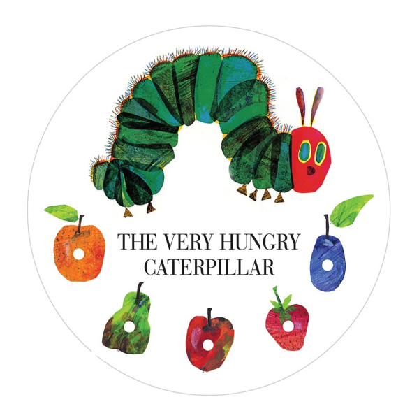 The Very Hungry Caterpillar Edible Cake Topper