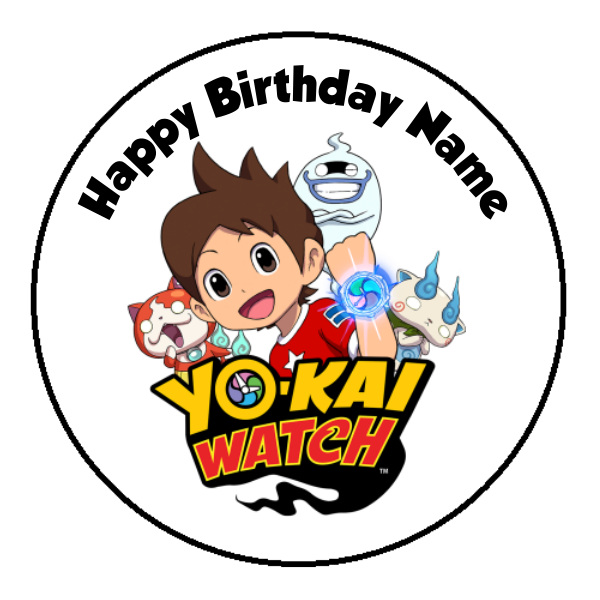 Yo-Kai Watch Edible Cake Topper