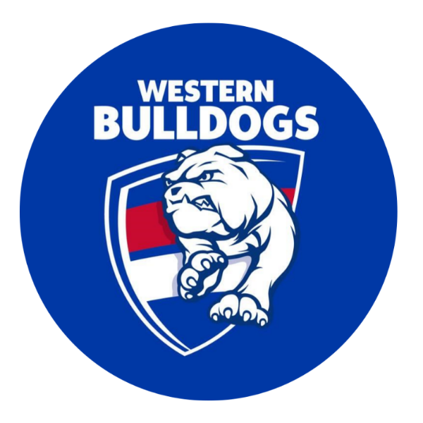 Western Bulldogs Edible Cake Topper