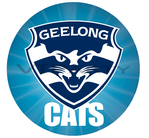 Geelong Cats Edible Cake Topper