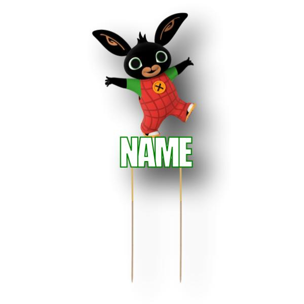 Bing Bunny Card Cake Topper