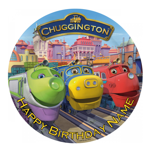 Chuggington Edible Cake Topper