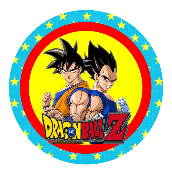 Dragon Ball Z Edible Cake Topper
