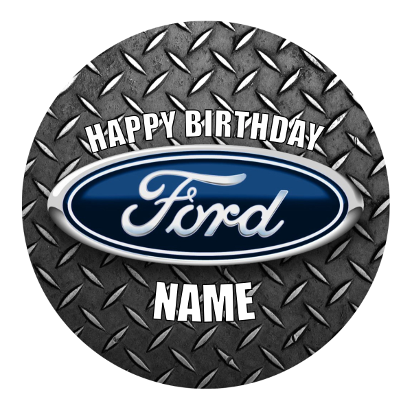 Ford Edible Cake Topper