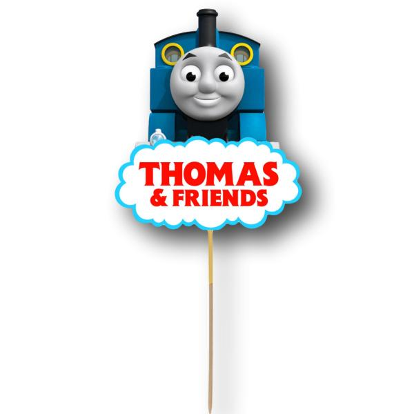 Thomas Card Cake Topper