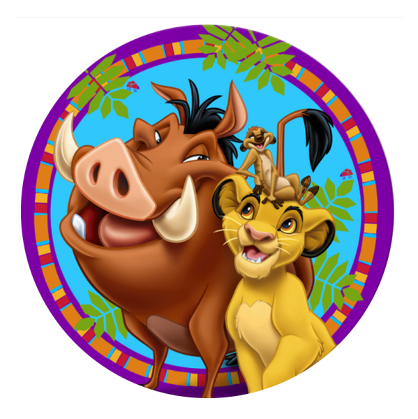 The Lion King Edible Cake Topper Viparty